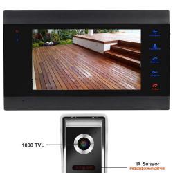 Видеодомофон HomeFong DM706RU и видеозвонок 1000 TVL